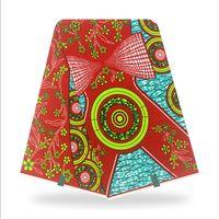 2021 새로운 ankara 아프리카 스타일 왁스 인쇄 패브릭 리얼 코튼 천으로 Nederlands Verived Batik 소재 6 야드 드레스 SW24