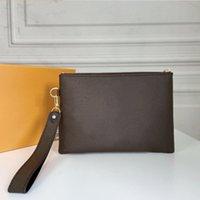 Luxurys Designer Stadttasche Zippy Kupplungsbeutel Frauen Brieftaschen Armband Taschen Schlüsselbeutel beschichtete Leinwand Männer Münze Geldbörse Täglicher Speicher Handy Brieftasche mit Box