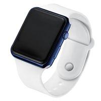 LED elettronico orologio digitale per le donne moda casual semplice silicone femminile orologio da uomo Montre femme ZEGAREK DAMSKI W010