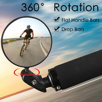 Bike Groupsets Bicycle Rear View Mirror MTB Road Handlebar Mirrors 360 Rotation Adjustable Cycling Accessories
