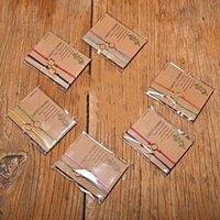 2pcs set Heart Geometric Charm Bracelet One for You One for Me Black Red String Braiding Couple Bracelet for Men Women Wish Card