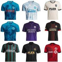MLS 20 21 Parley PrimeBlue Kit Inter Miami CF Футбол Джерси 2022 Лос-Анджелес La Galaxy 22 Higuain Beckham Atlanta United Lafc Pre Футбольные Рубашки Вентиляторы