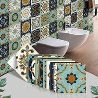 Wall Stickers Kitchen Adhesive Tiles Sticker Floor Bathroom Decoration Peel And Stick Backsplash Waterproof Ceramic Wallpaper 3d Panel