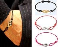 França famosa jóias dinh van pulseira para mulheres 925 esterlina corda de prata algema pulseira menottes