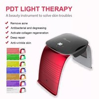 Portable Face Mask LED Light Photon Therapy 7 Colors PDT Beauty Equipment for Salon Spa Acne Wrinkle Removal Skin Care Factory Price