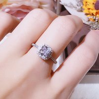 Promise Ring 925 sterling Silver Engagement Wedding Band Rings For Women