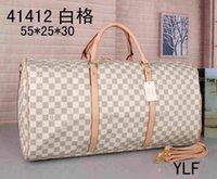"1-5.LV ""LOUIS"" VITTON BAG ""Vitton"" Vutton дизайнерская сумка 55см Duffle Man Travele Bag Men's Duffel рюкзак открытый багажная сумка мужской мешок"