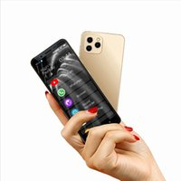 Desbloqueado 4G LTE ANICA I11S Teléfonos celulares Mini WhatsApp Smartphone 16GB 32GB 64GB 128GB ROM Telefone 5 Inch Original teléfono móvil 13MP Cara ID Dual Sim Standy 90