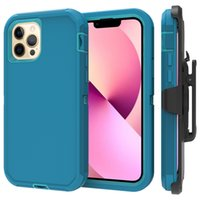 Phone13 pro max case, Heavy Duty Rugged Belt Clip Holster Kickstand Protective Cover Armor [Shockproof] for iphone13 mini