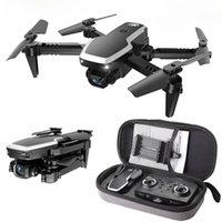 PGY S171 برو FPV البسيطة بدون طيار 4K HD المزدوج كاميرا الارتفاع عقد موتور توريسي wifi 2.4 جرام rc quadcopter طوي طي الطوي كاميرا dron