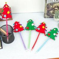 Student Christmas Pen Cute Cartoon Neutral Christmas-Series Black Creative Gel Cute-pen Stationery Wholesale DHL
