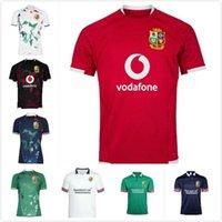 2021 National League Britannique et irlandaise Lions Rugby Jersey Shirt Nations Polo S-5XL Red Pro 20/21