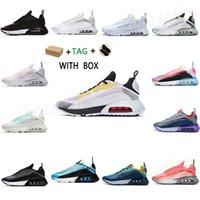 2021 erkek kadın 2090 koşu ayakkabıları gerçek saf platin fırça darbesi üçlü siyah beyaz crimson racer lazer mavi erkek eğitmenler spor sneakers boyutu 36-45
