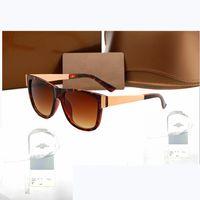 3718 디자이너 선글라스 남자 안경 야외 음영 PC 프레임 패션 클래식 레이디 태양 안경 미러