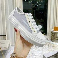 Sapatilhas Stellar White Rosa Mulheres Sapato Zip Tecido Técnico e Couro Luxurys Designer Sneaker Men Sapatos Esportivos
