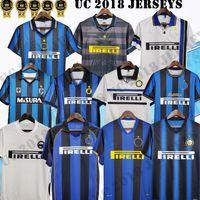 2009 10 Retro Fussball Trikots Inter Finals Milito Batistuta Sneijder Zanetti 11 02 03 08 09 Mailand Retro Pizarro 1997 1998 97 98 99 Classic Football Hemden Baggio Ronaldo