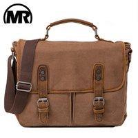 MARKROYAL Retro lienzo bolso de viaje nuevo vintage cargoso caballo mango de cuero al aire libre laptop bolsas de equipaje Dropshipping LJ200921