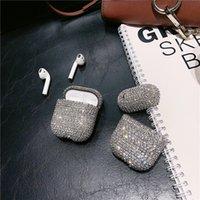Fashion Luxury Diamond Case para Apple Airpods 1 2nd 3 PRO Generation Cover Funda inalámbrica Bluetooth Funda para la vaina de aire Cajas para auriculares