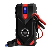 Car Jump Starter Power Bank 20000mAh 12V Starting device Diesel Battery 1600A Emergency Starter-Up with wireless charge W006