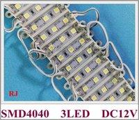 36mm * 09mm SMD 4040 LED-Modul 3 Licht für Zeichenbuchstabe DC12V SMD4040 3LED 0.9W 100lm IP65 Hohe helle Energiesparmodule