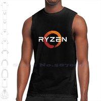 Vendedor AMD Ryzen Logo Mercancía Custom Funny Tank Top sin mangas chaleco
