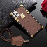 디자이너 패션 휴대 전화 케이스 커버 PU 가죽 고품질 전신 보호 아이폰 12 프로 미니 11 xr xs 최대 7/8 플러스 삼성 S20 S10 노트 8 9 10