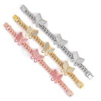 Bracelet on Leg Jewelry 2021 Girl Accessories Women's Costume Jewelry Sandals Women's Summer Color Butterfly Feet Bare Bracelet