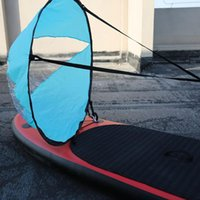 """Pool & Accessories 46"""" Popup Kayak Wind Paddle Sail Folding Downwind Kit Canoes Inflatable Boats Board Sailboat"""