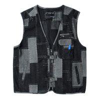 Men's Vests Men Camouflage Fishing Hunting Vest Cargo Outdoor Game Outwear Waistcoat Multi-Pocket Pography Recreational