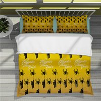 Popular singing stars in Europe and America Billie Eilish 3D Printing Colorful Bedding Sets Duvet Cover-33