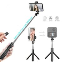 Selfie Monopods 2021 4 In 1 Mini Bluetooth Wireless Stick Foldable Tripod For Action Camera Smartphone