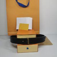 Big Buckle Cinto de Couro Genuíno com Caixa Designer Homens Mulheres Alta Qualidade Mens Moda Cintos Largura 38mm AAA778