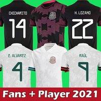 mexico 2020 messico pullover da calcio HIRVING LOZANO maglia da calcio 2020 coppa del mondo CARLOS V GUARDADO G.DOS SANTOS magliette messico CHICHARITO maglia