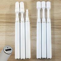 Ведущие полноценные одноразовые одноразовые ручки Vape 0.5 мл 1 мл стеклянные резервуары 290mAh аккумуляторная батарея толщиной из премии толщиной масляные картридты пустые эсглавы