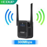 EDUP WiFi Repetidor 300Mbps Extensor Sem Fio Extensor WiFi Extender Extender Amplificador Signal Booster Repetidor