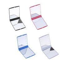 미니 화장품 접는 휴대용 숙녀 소형 화장 포켓 거울 8 LED 조명 램프 미러 뜨거운 판매 선물 696 v2