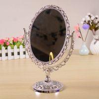 مرآة مكياج مع 16 المصابيح مرآة مستحضرات التجميل مع لمسة باهتة التبديل بطارية تدير الغرور حامل للجدل 2110 v2