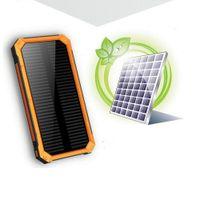 20000 мАч солнечный PowerBank для Xiaomi OPPO LG Power Bank зарядное устройство батареи портативный мобильный зарядки двойной USB-выход Li-Polymer