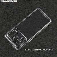 Camera Lens Protector Cases For Xiaomi MI 11 Pro Ultra Lite Mi11 11Pro 11Ultra 11Lite 1mm Soft TPU Clear Phone Cover