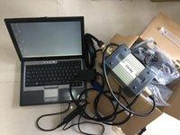 MB Estrela C3 Multiplexer Ferramenta de Diagnóstico Cabos HDD 160GB Software Laptop D630 RAM 4G Kit completo pronto para uso