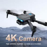 DRONE UAV 4K HD Faltbare Luftaufnahme Dual Kamera Quadrocopter Luftdruck Feste Höhe Fernbedienung Flugzeug Drohnen