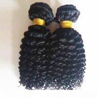 Cutícula Brasileira Virgem Peruana Kinky Cabelo Curly 3Bundles Barato Preço de Fábrica Não Transformada Não Transformada Malaia Indiana Remy Cabelo Weave Dhgate