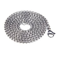 Pendant Necklaces Street Hipster Male Retro Snake Necklace High Quality Hip Hop Rock Titanium Steel Men's 9-X00055