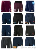Nrl Rugby League Camisas Shorts 2021 Melbourne Tempestade Qld Maroons Brisbane Broncos Roosters Rabbitohs Warriors Maori Titans NSW Blues