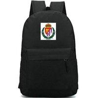 Real Valladolid backpack Pucela badge daypack Football club schoolbag Team rucksack Satchel Sport school bag Print day pack