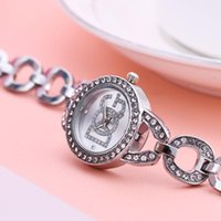 Wristwatches Women Rhinestone Fashion Full Steel Bracelet Watch Casual Boutique Ladies Dress Quartz Relogio Feminino Reloj