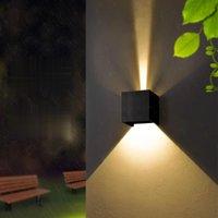 Lukloy открытый настенный светильник Nordic водонепроницаемый творческий Walll легкий прицел современная минималистская лестница во дворе заборные лампы спальни