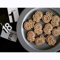 Flower Stamp Biscuit Mold 3D Cookie Plunger Cutter Pastry Decorating DIY Fondant Baking Mould Tool Sunflower Sakura Moulds