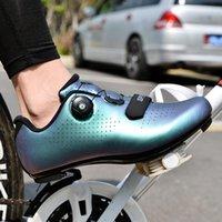 الرجال الصلبة ضوء الدراجات أحذية الطريق قفل الذاتي دراجة ركوب التدريب triathlon بنفا نظام المهنية spd دراجة أحذية أحذية