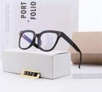 2021 Damen Designer Sonnenbrillen für Männer Fashion Black Frame Klassische Runde Sun Glassess UV400 Schutz